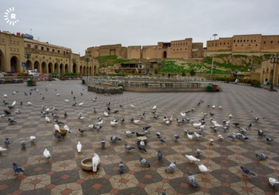 Erbil streets on lockdown to prevent spread of coronavirus. March 14, 2020. Photos by Bilind T. Abdullah0