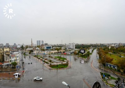 Erbil streets on lockdown to prevent spread of coronavirus. March 14, 2020. Photos by Bilind T. Abdullah1