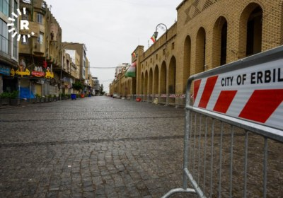 Erbil streets on lockdown to prevent spread of coronavirus. March 14, 2020. Photos by Bilind T. Abdullah15