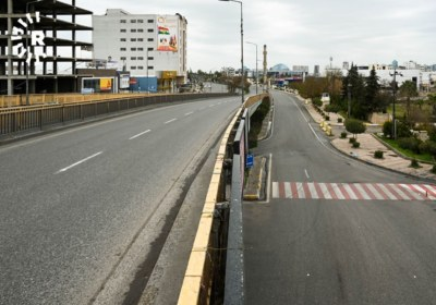 Erbil streets on lockdown to prevent spread of coronavirus. March 14, 2020. Photos by Bilind T. Abdullah6