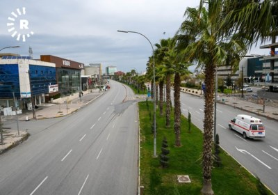 Erbil streets on lockdown to prevent spread of coronavirus. March 14, 2020. Photos by Bilind T. Abdullah9